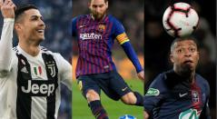 Delanteros del equipo ideal de la UEFA
