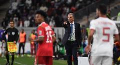 Carlos Queiroz dirigiendo a la selección de Irán