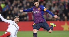 Lionel Messi, delantero de Barcelona