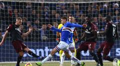 Sampdoria vs Milan - Copa de Italia