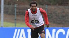 Didier Moreno, jugador del Deportivo La Coruña