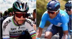 El colombiano Nairo Quintana y el eslovaco Peter Sagan
