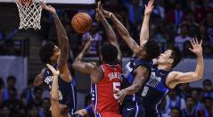 Sixers aplastan a Pacers y Raptors sufren ante Suns en la NBA