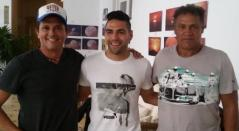 Carlos Vives, Falcao García y Radamel García