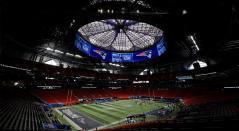 Rams y Patriots se verán las caras en el Mercedes Benz Stadium