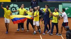 COPA DAVIS 2019 COLOMBIA Vs SUECIA