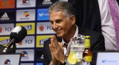 Queiroz arribó a Colombia el miércoles en la noche para su posterior presentación como sustituto del argentino José Pékerman