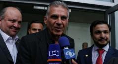 Carlos Queiroz llegó al país para ser anunciado como entrenador de la Selección Colombia.