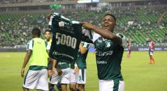 Dany Rosero, gol 5000 del Deportivo Cali