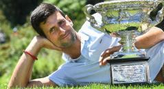 Novak Djokovic, ganador del último Abierto de Australia