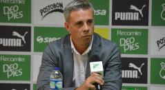 Lucas Pusineri, técnico del Cali