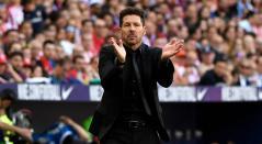 Diego Simeone, técnico del Atlético de Madrid