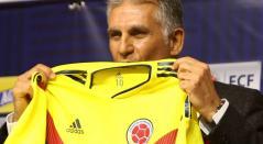 Carlos Queiroz, director técnico de la Selección Colombia de mayores