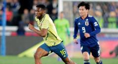 Jéfferson Lerman, hombre en la contención de Colombia ante Japón