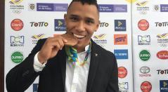 Luis Javier Mosquera- Levantamiento de Pesas