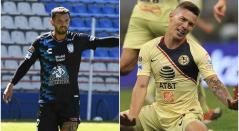 Edwin Cardona y Matheus Uribe, futbolistas colombianos en México