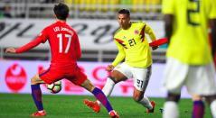 Corea del Sur vs Colombia, amistoso 2017