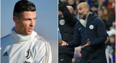 Cristiano Ronaldo y Josep Guardiola