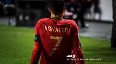 Cristiano se lesionó con Portugal