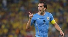 Diego Godín, defensa central uruguayo