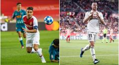 Falcao García y Gareth Bale