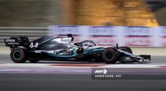 Lewis Hamilton se llevó la victoria en el Gran Premio de Baréin