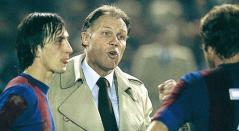 Rinus Michels y Johan Cruyff