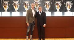 Zinedine Zidane y Florentino Pérez