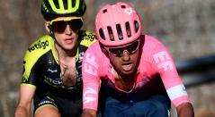 Daniel Felipe Martínez se ha mantendio en el 'top' 10 de la general en la Vuelta al País Vasco