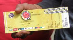 Boletas Selección Colombia
