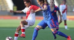 Selección Colombia Femenina golea 4-0 a Perú