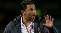 Gerardo Bedoya no ocultó su satisfacción por la victoria de Santa Fe ante Huila