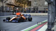 McLaren pudo ubicar a sus dos pilotos entre los diez primeros del Gran Premio de Azerbaijan