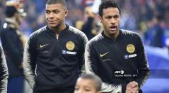 Neymar y Mbappe, las dos principales estrellas del PSG
