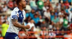 Edwin Cardona marcó gol en la victoria 9-2 del Pachuca ante Veracruz.