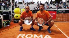 Juan Sebastián Cabal y Robert Farah conquistaron este domingo por segundo año consecutivo el título de dobles en el Masters 1000 de Roma