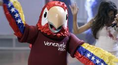 La mascota de la Copa América de Venezuela en 2007