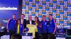 Selección Colombia patrocinada por Postobón