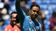 Keylor Navas se despide de la afición del Real Madrid
