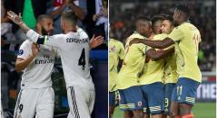 Real Madrid - Selección Colombia
