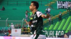Juan Dinenno, delantero del Deportivo Cali