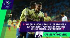 Palabras Mayores - Selección Colombia Sub-20