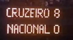 Atlético Nacional cayó goleado 4-0 ante Cruzeiro en Supercopa de 1992