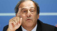 El exfutbolista francés y expresidente de la UEFA MichelPlatini