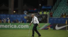 El técnico Óscar Washington Tabárez