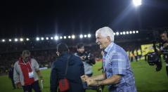 Julio Comesaña, técnico campeón con Junior de Barranquilla