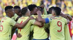 William Tesillo abrió la cuenta en el partido Panamá-Colombia