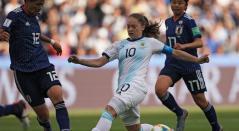 Argentina vs Japón femenina