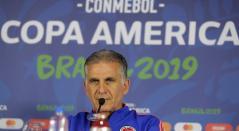 Carlos Queiroz - DT de la Selección Colombia