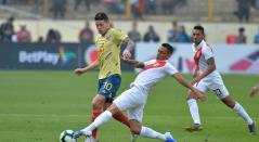 Perú vs Colombia